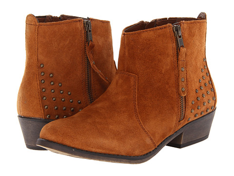 White Mountain - Jackie (Dark Rust) Women's Zip Boots