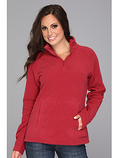 SALE! $19.99 - Save $45 on Carhartt Boyne Mock Neck Pullover (Merlot Heather) Apparel - 69.25% OFF $65.00