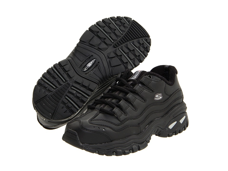 SKECHERS - Energy (Black) Women's Lace up casual Shoes
