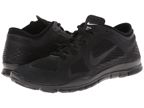 Nike - Free 5.0 TR Fit 4 (Black/Black/Black) Women's Running Shoes