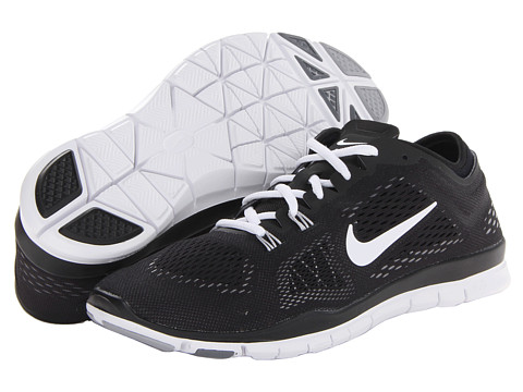 Nike - Free 5.0 TR Fit 4 (Black/Cool Grey/Wolf Grey/White) Women