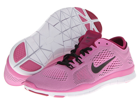 Nike - Free 5.0 TR Fit 4 (Red Violet/Bright Magenta/White/Black) Women's Running Shoes