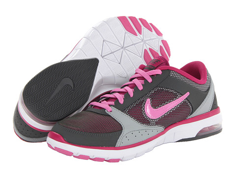 Nike - Air Max Fit (Dark Base Grey/Base Grey/Bright Magenta/Red Violet) Women's Cross Training Shoes