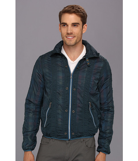 Jet Lag - MO-09 Flight Jacket (Deep Blue) Men's Jacket
