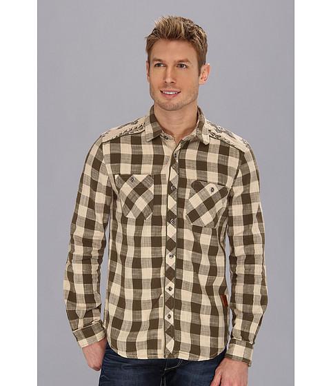 Buffalo David Bitton - Sapell L/S Loose Twill Shirt (Kobar Combo) Men's Long Sleeve Button Up