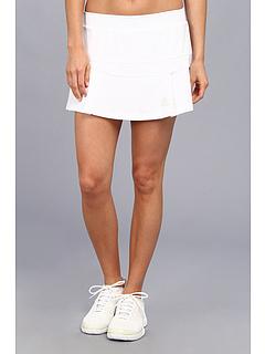 SALE! $39.99 - Save $20 on adidas All Premium Skort (White Grey) Apparel - 33.35% OFF $60.00