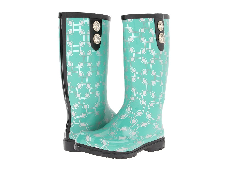 NOMAD - Puddles II (Green Chain) Women's Rain Boots