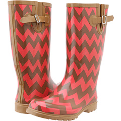 NOMAD Puddles (Brown Coral Chevron) Footwear
