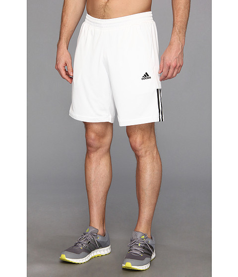 adidas - Tennis Sequencials Galaxy Short (White/Black) Men's Shorts
