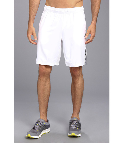 adidas - Response Short (White/Black) Men's Shorts