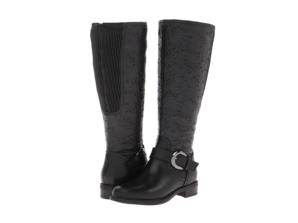 David Tate - Brave Wide Shaft (Black) Women's Wide Shaft Boots