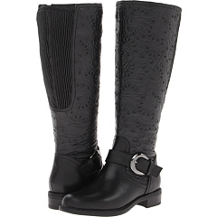 David Tate Brave Wide Shaft (Black) Footwear