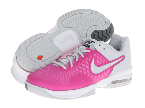 Nike - Air Max Cage (Red Violet/White/Pure Platinum) Women's Tennis Shoes