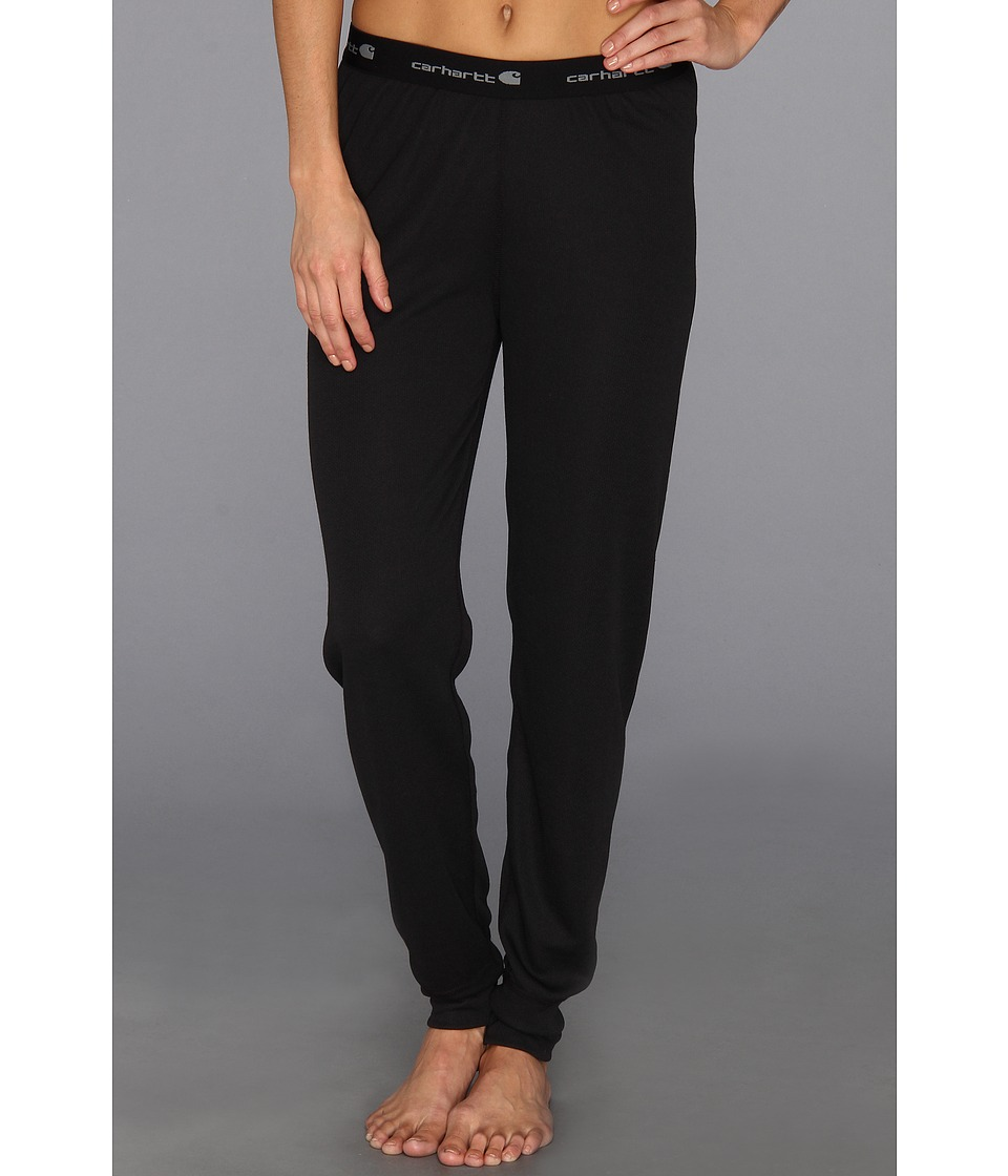 Carhartt - Base Layer Bottom (Black) Women's Casual Pants