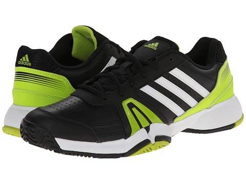adidas - Bercuda 3 (Night Shade/Running White/Earth Green) Men's Tennis Shoes