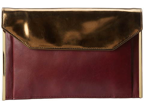 Kenneth Cole - Barder Clutch (Bronze) Clutch Handbags