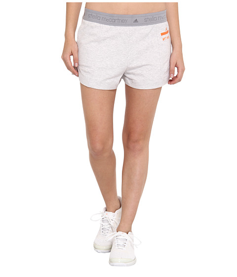 adidas by Stella McCartney - Low Waste Short F51350 (Light Grey Heather) Women