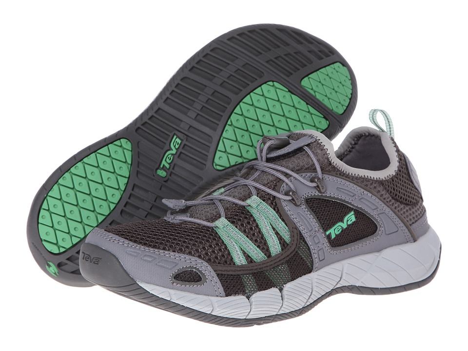 Teva - Churn (Light Grey/Green Gecko) Men's Shoes