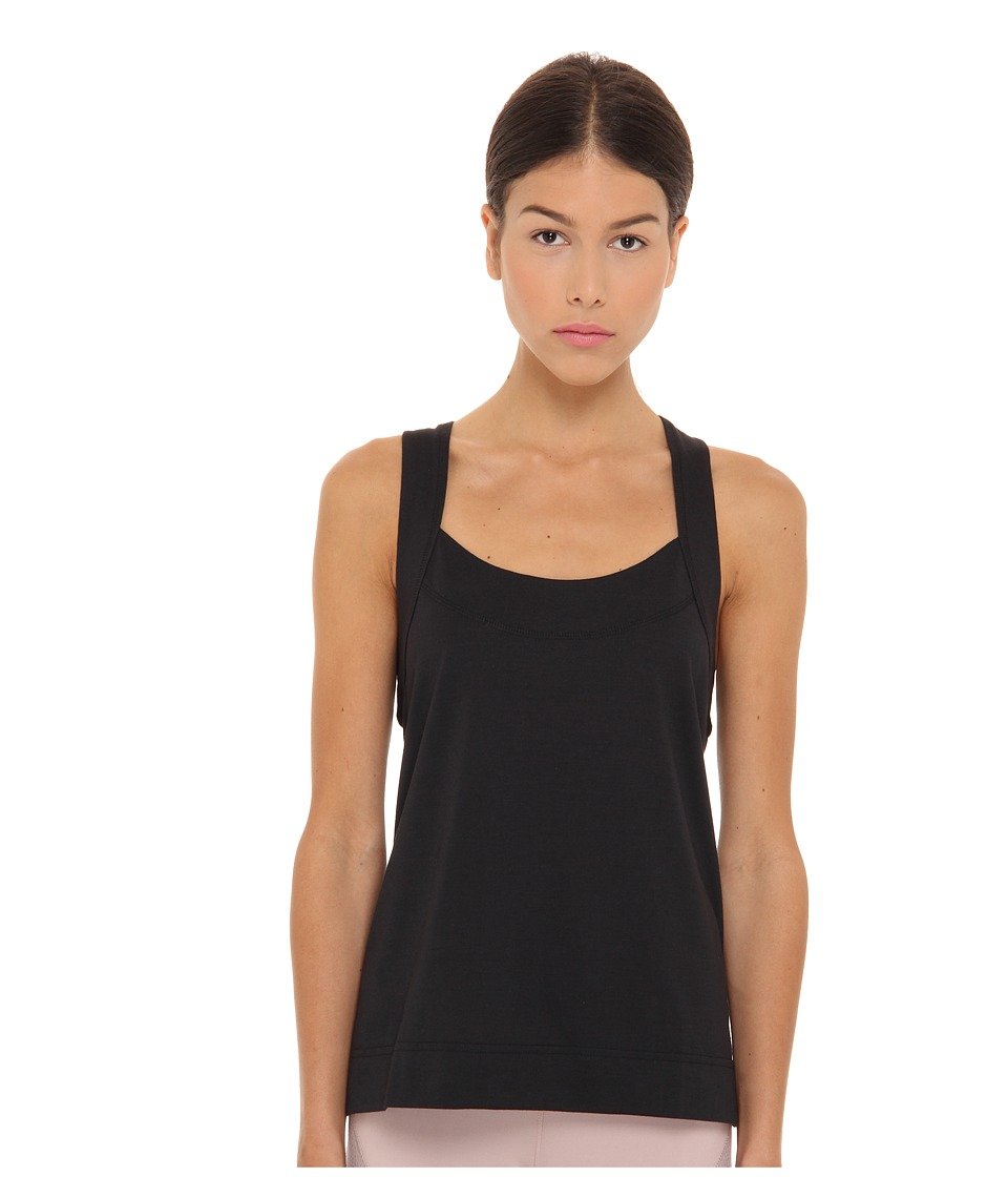 adidas by Stella McCartney - Studio Dry Dye Tank F76896 (Black) Women's Sleeveless