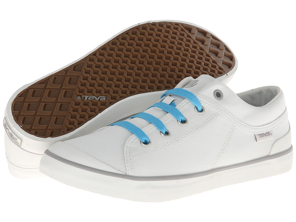 Teva - Freewheel Washed Canvas (White) Women's Shoes