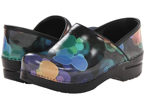 Dansko - Professional (Bubbles Patent) Women's Clog Shoes