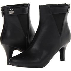 Annie Malia (Black Smooth) Footwear