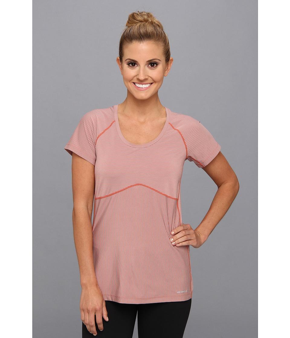 Merrell - DeVeau Tee (Coral/Ash) Women's T Shirt