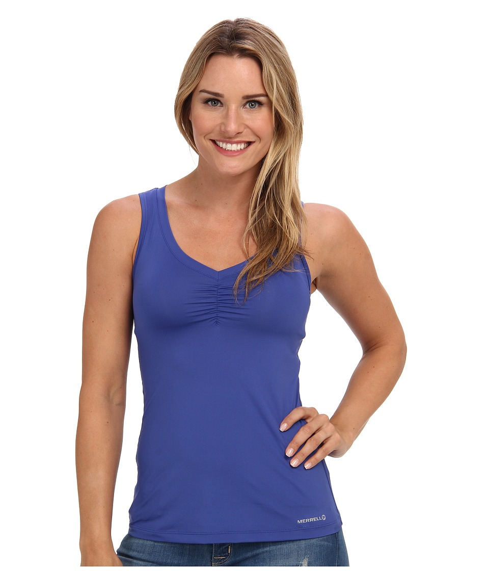 Merrell - Corinne Tank Top (Sapphire) Women's Sleeveless