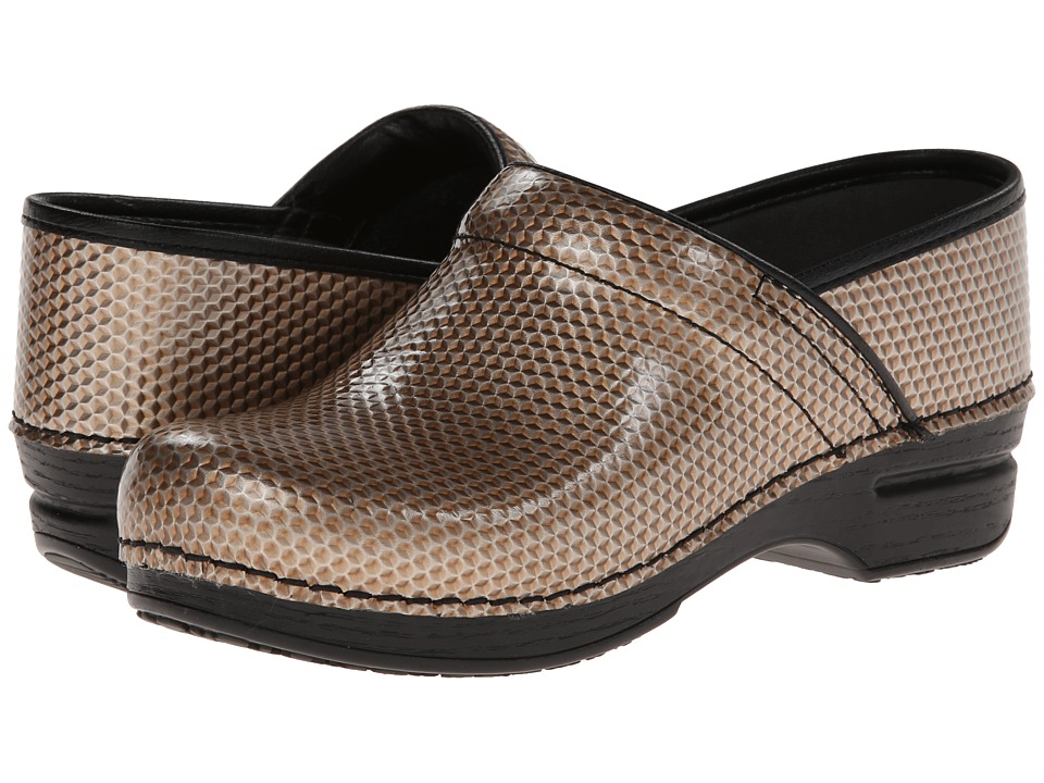Dansko - Pro XP Professional (Champagne Honecomb Patent) Women's Clog Shoes