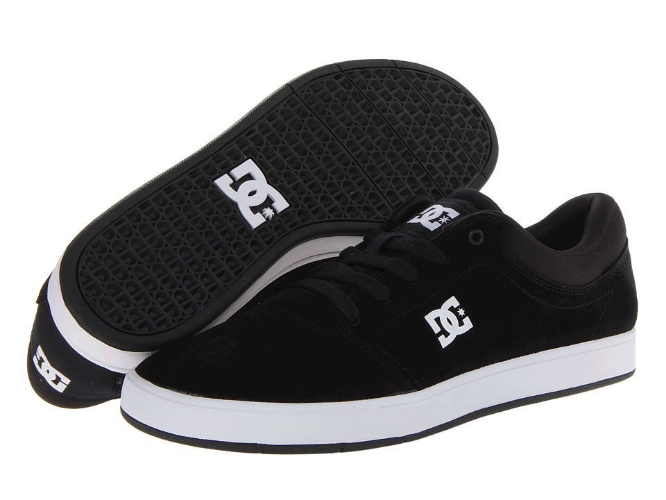 DC - Crisis (Black/White) Men's Skate Shoes
