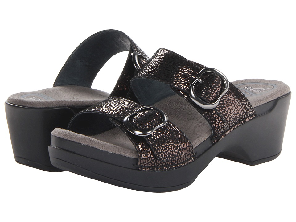 Dansko - Sophie (Black Shimmer) Women's Sandals
