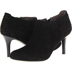 DKNY Samira (Black Suede) Footwear