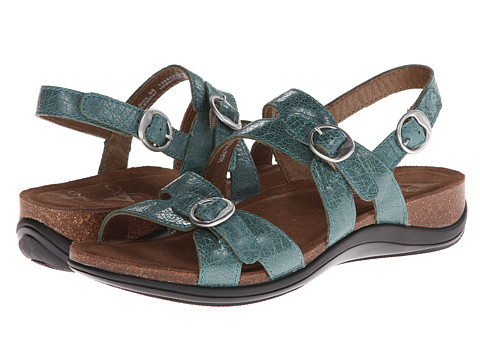 Dansko - Jameson (Turquoise Crackle) Women