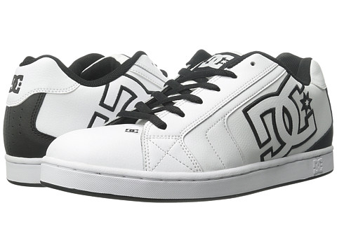 DC - Net (White/Black Basic) Men