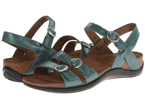 Dansko - Janis (Turquoise Crackle) Women's Sandals