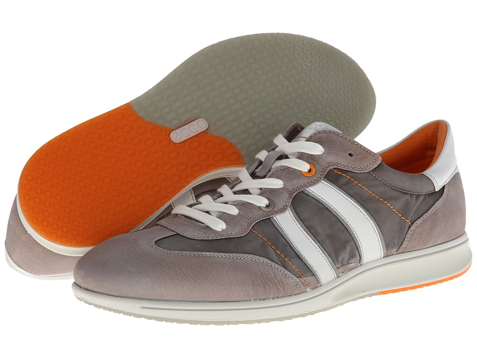 ECCO - Jogga Textile Sneaker (Stone/Warm Grey/Wild Dove/White Basalt/Nylon/Basalt/Feather) Men's Shoes