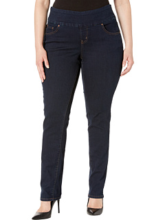 SALE! $44.99 - Save $34 on Jag Jeans Plus Size Plus Size Nora Pull On Narrow in After Midnight (After Midnight) Apparel - 43.05% OFF $79.00