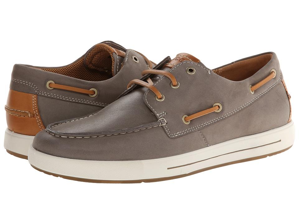 ECCO Eisner Boat Sneaker (Moon Rock/Lion Starbuck/Sambal) Men
