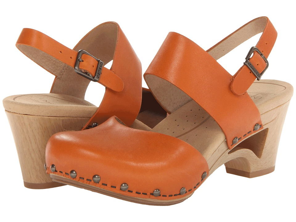 Dansko - Thea (Tangerine Veg) Women's Shoes