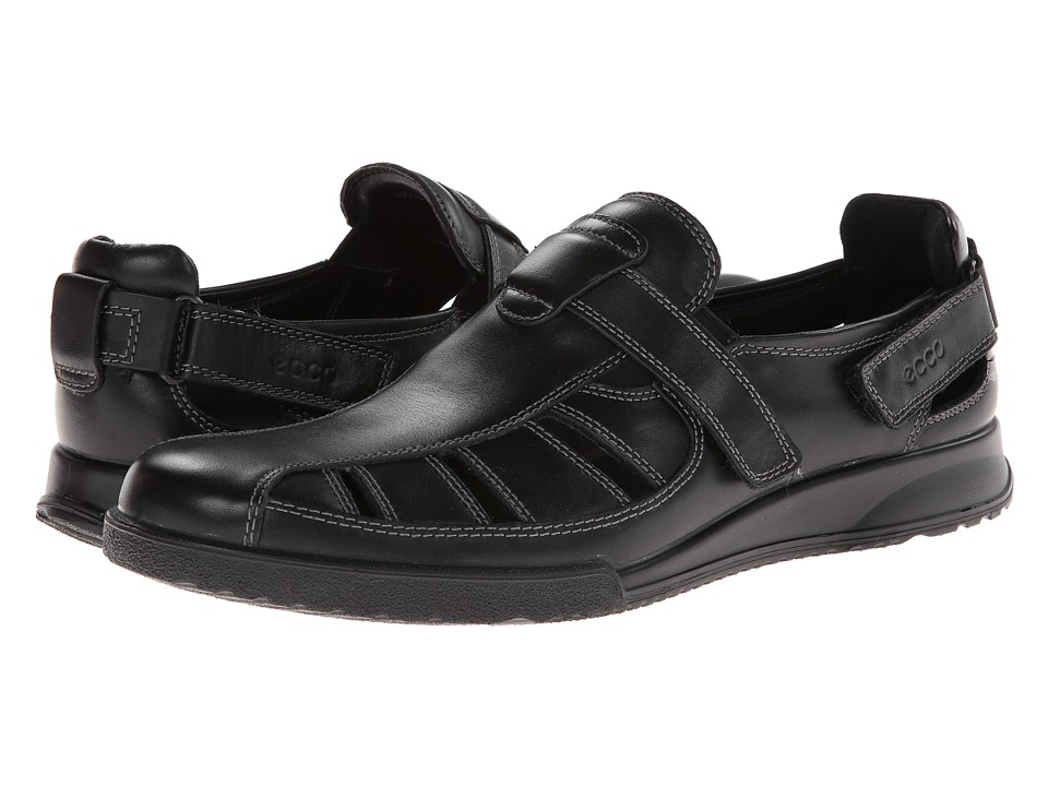 ECCO - Transporter (Black Luxe) Men