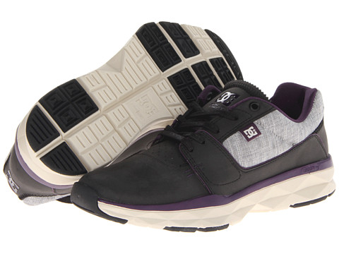 DC - Player (Black/Purple) Men's Skate Shoes