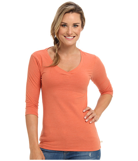 Merrell - Iris Half Sleeve (Nutmeg Heather) Women's Long Sleeve Pullover