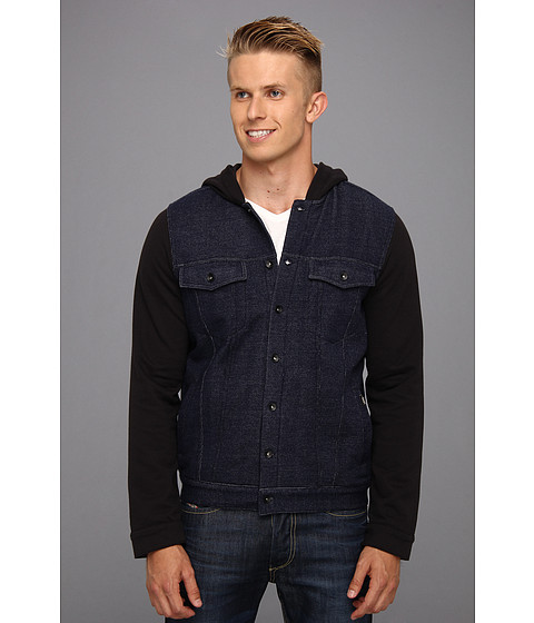 Vans - Hacksaw Fleece Hoodie (Midnight Navy) Men