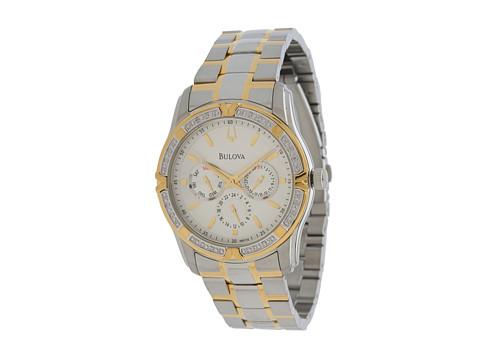 Bulova Mens Diamonds - 98E112 (Two-Tone) Watches