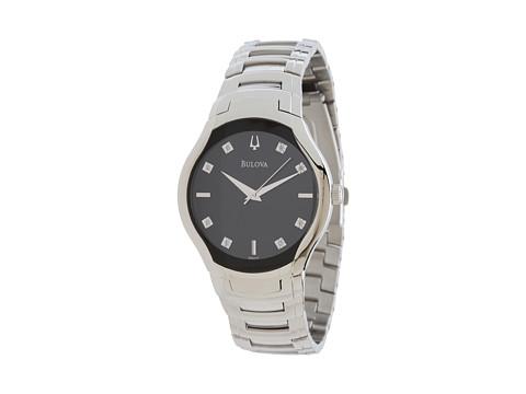 Bulova Mens Diamonds - 96D117 (White/Black) Watches