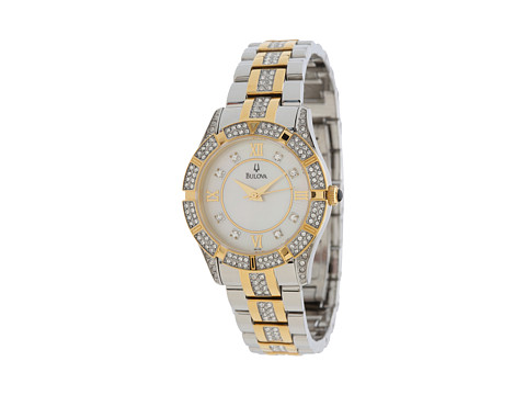 Bulova Womens Crystal - 98L135 (Two-Tone) Watches
