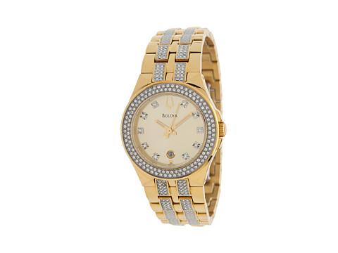Bulova - Womens Crystal - 98M114 (Yellow Gold 1) Watches