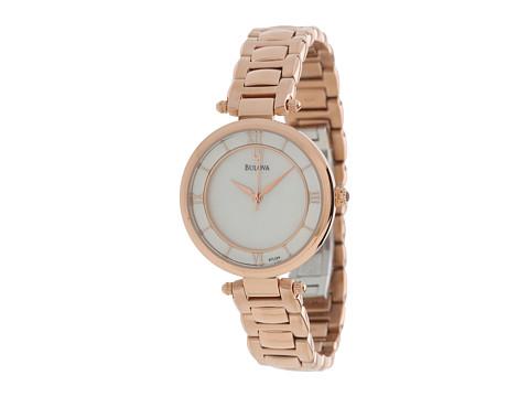 Bulova Womens Dress - 97L124 (Rose Gold) Watches