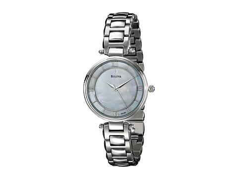 Bulova Womens Dress- 96L185 (White) Watches