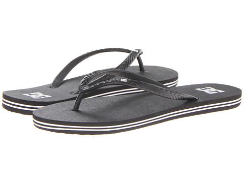 DC - Spray W (Black/Black/White) Women's Skate Shoes
